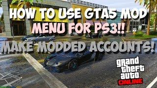 PS3/1 27]INSANE GTA5 SPRX Mod Menu Paranormal BETA(Client