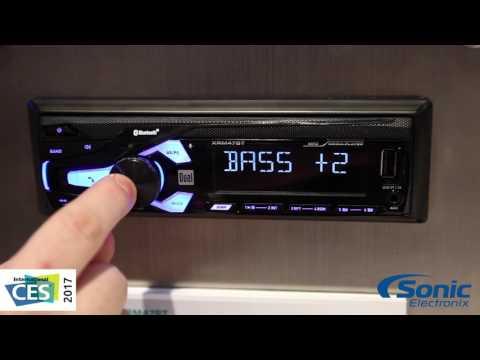 Dual XRM47BT Bluetooth Car Stereo | CES 2017