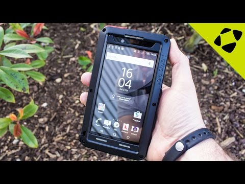 Love Mei Powerful Sony Xperia Z5 Tough Case Review - Hands On