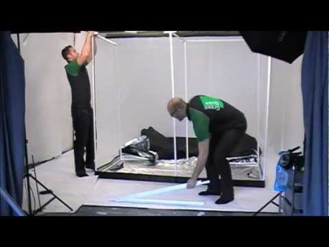 OLD_How to Assemble the Green-Qube 1224 [GQ1224] Grow Tent (2012)