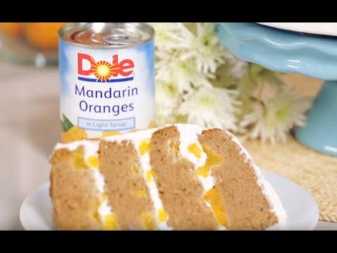DOLE® Carrot Mandarin Layer Cake |  Dessert  |  Simple Recipe