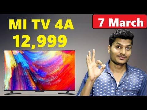 Xiaomi MI TV 4A Price Just 12,999 Rupee | Cheapest Smart TV in India