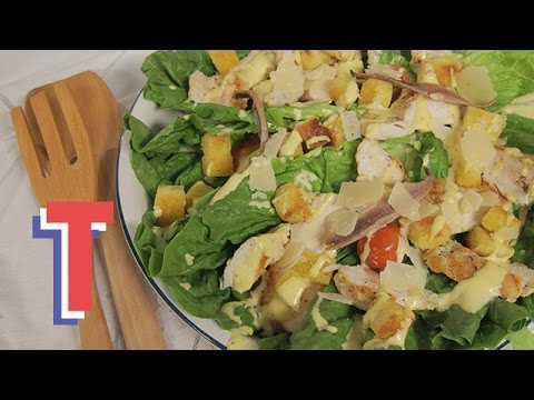 Classic Caeser Salad | Feed My Friends 3