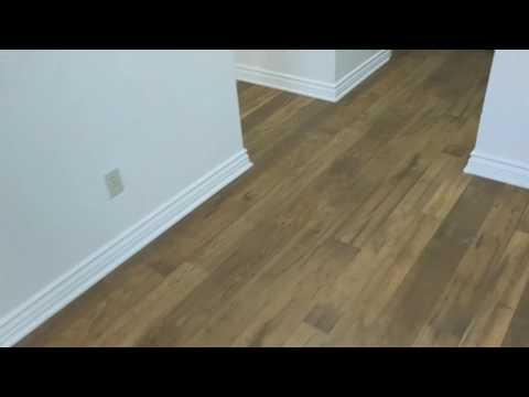 Vinyl Floor steam cleaning