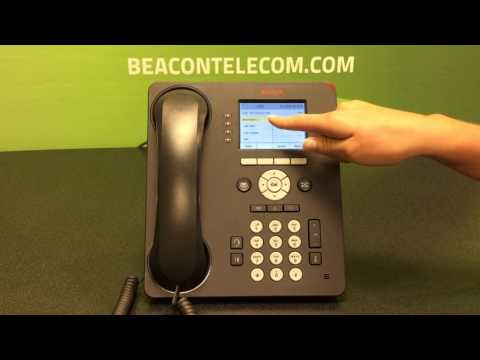 Avaya 9611g -  Phone Feature Call Forward