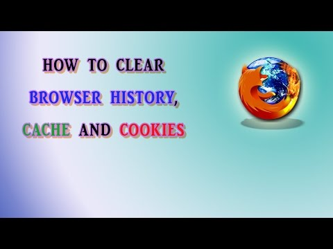 How to Clear Browser History, Cache and Cookies in Firefox | Definite Solutions
