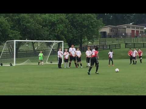Tucker As Goalie During Penalty Kicks