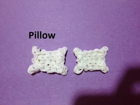 How to Make a Pillow Charm on the Rainbow Loom - Original Design