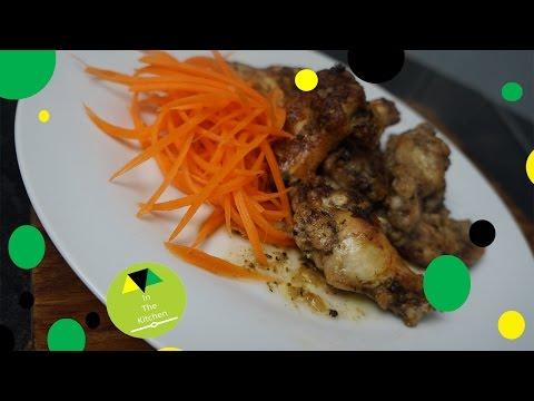 Jerk chicken wings oven-style