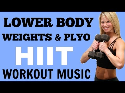 Lower Body HIIT for Strong Legs, Lower Body Workout with Dumbbells