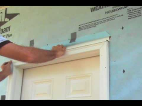 Correctly Flashing and Caulking an Exterior Door