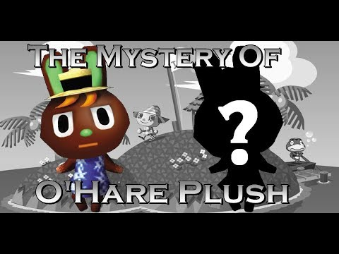 The Mystery of the O'Hare Plush (Lost Animal Crossing Plush, 2001)
