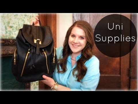 What's In My Backpack? | My Minimal School Supplies