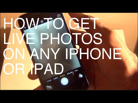 How To Enable Live Photos on Any iPhone or iPad FREE iOS 9.2 - 9.3.3 Jailbreak