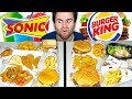SONIC vs. BURGER KING! - Epic Fast Food Taste Test!