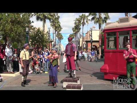 RedCar Trolley News Boys at Disney California Adventure 5/24/15
