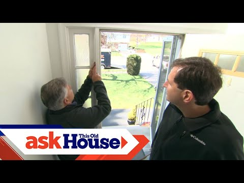 How to Replace Sidelights on a Front Door