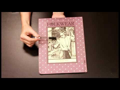 Victorian Shirt: Folkwear Pattern # 202 Pt. 1. Identifying the Pattern Pieces