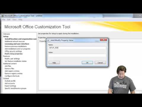 How to use the OCT - Office Customization Tool to customize Office 2013