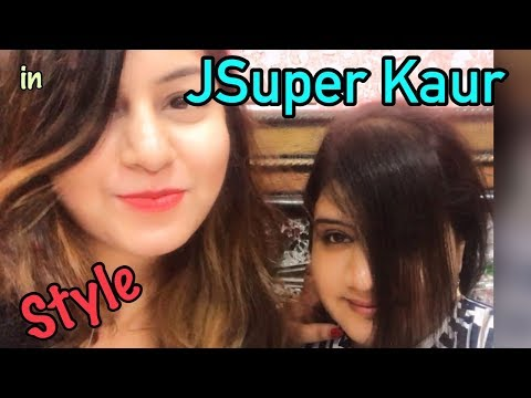 How To Cut Side Swept Bangs/Fringe At Home in 1 Minute | DIY Hair Cut |  JSuper Kaur Style