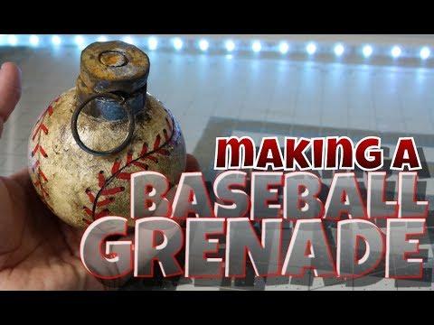 making a baseball grenade from Fallout 4