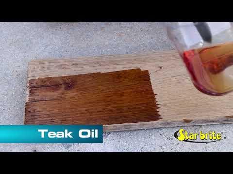 Star brite Premium Golden Teak Oil - STEP 3 - 851