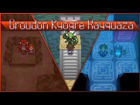 Detonado pokemon Volt White 2 - part 85 - Groudon, Kyogre e Rayquaza!