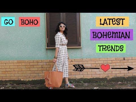 How to dress Boho? Latest Bohemian Trends    Bohemian Style    Boho Look     The Style Stroke