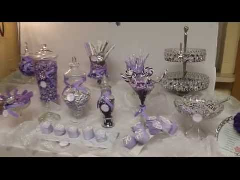 Zion Caribbean Catering 70th Birthday Party Candy Buffet Table