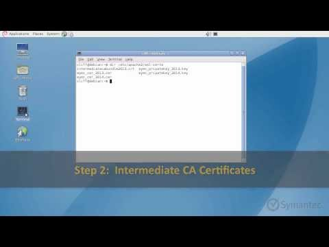 Support Tutorials:  Installing an SSL Certificate for Apache Servers