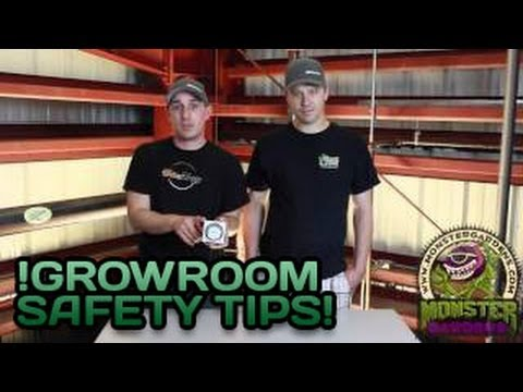Safety In the Grow Room | Grower Safety Video | Safe Indoor Garden from Fire Water Electrical