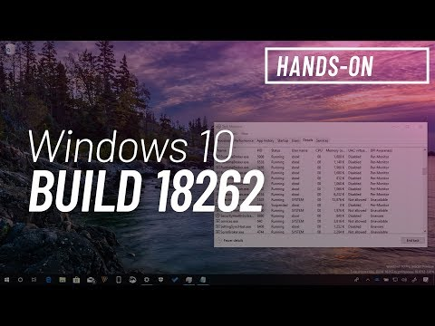 Windows 10 build 18262: Hands-on with app remove changes, automatic fixes, Task Manager