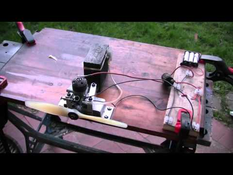 How to get a Vintage Spark Ignition Plane Engine Running!