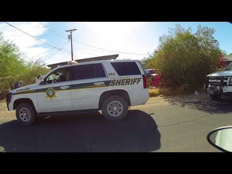 Pima County Sheriff seize Backpack in Traffic Stop at 901 Solana Ave, Ajo, Arizona, 27 May 2018