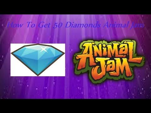 How to get 50 diamonds free on Animal Jam free no code needed