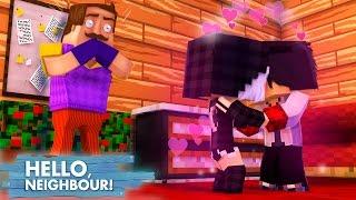 Minecraft HELLO NEIGHBOR - O VIZINHO PEGOU A MIA E O WIIZINHO SE BEIJANDO!! | EP 25