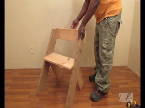 How To build A  - Modern Chair
