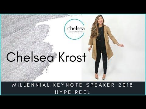 Chelsea Krost, Millennial Keynote Speaker 2018 Hype Reel