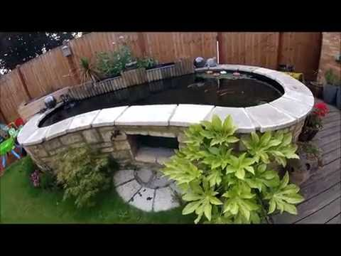 How to build a Koi Pond part 7