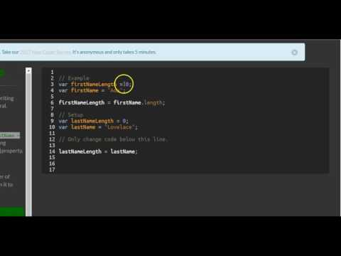 Find the Length of a String, freeCodeCamp Basic Javascript