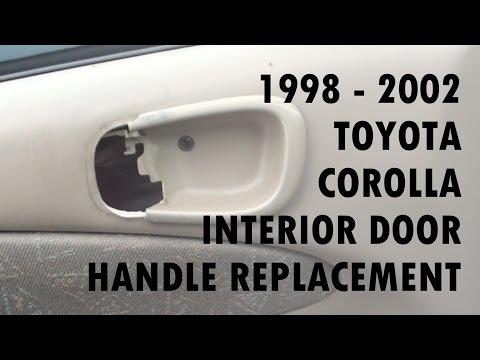 1998 - 2002 Toyota Corolla Door Handle Replacement