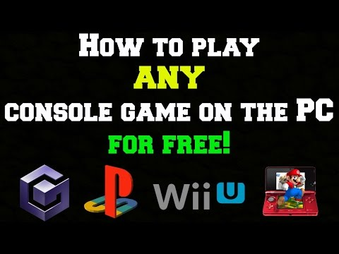 How to play ANY Console Game on PC FREE | Voice Tutorial | 2016 |