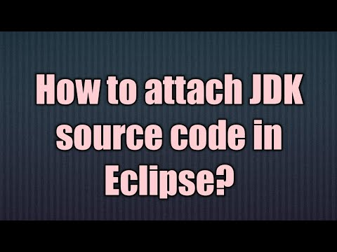 How to attach javadoc or source code in Eclipse
