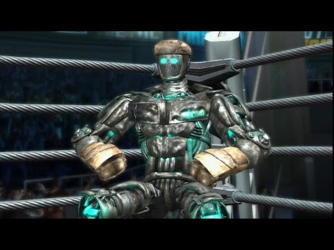 Real steel-five rounds of pain||EPIC END(Atom vs new robot Fusion)ЖИВАЯ СТАЛЬ XBOX360/PS3