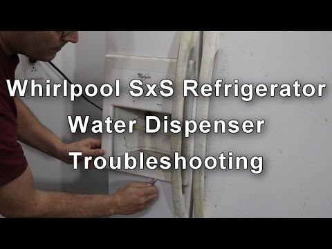 Whirlpool Refrigerator Water Dispenser Not Working - How to Repair