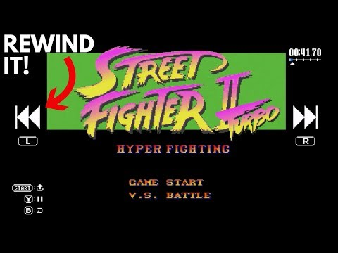 How To Use The Rewind Feature on the SNES Classic Edition! (Super Useful)