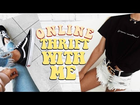 THRIFT WITH ME: ONLINE?!