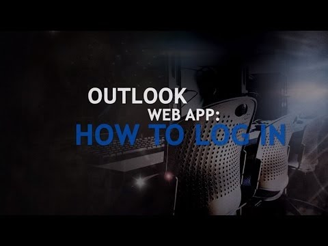 TRC - Training - How to Log into Outlook Web App