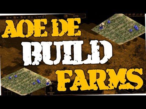 Age of Empires Definitive Edition - How to build farms (AoE DE)