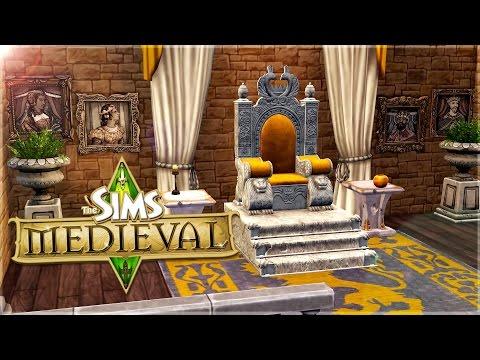 The Sims Medieval || Castle Build || My Dream Castle